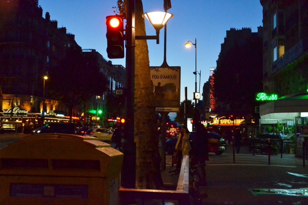 evening in montparnasse